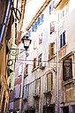 Croatia, Istria, Rovinj, facades of houses at old town - MAEF12373