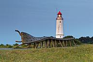 Germany, Hiddensee, Dornbusch lighthouse on the Schluckswiek - GF01021