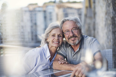 Senior couple enjoying their a city break - ZEF14158