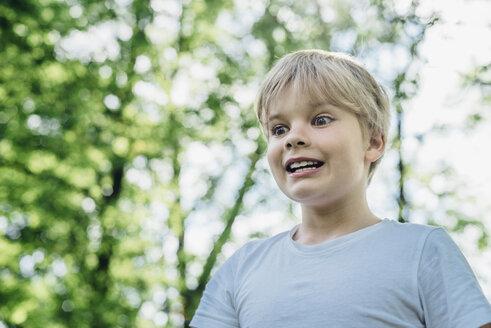 Portrait of starring little boy - MJF02134
