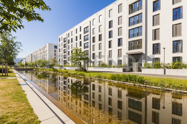 Germany, Heidelberg, Bahnstadt, passive house development area - WDF04069