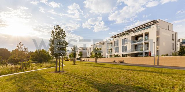 Germany, Heidelberg, Bahnstadt, passive house development area - WDF04075
