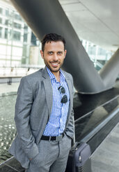 Portrait of a confident businessman in the city - MGOF03493