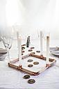 Laid table at Christmas time - SBDF03275