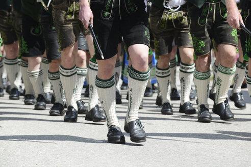Bavaria, traditional costume parade, partial view - LHF00532