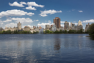 USA, New York City, Skyline with Central Park in spring - MAUF01213