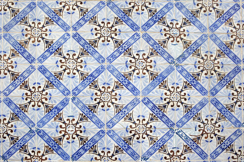 Portugal, Azulejos, close-up - TLF00758