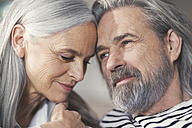 Portrait of an affectionate senior couple - SBOF00470