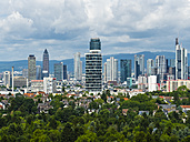 Germany, Frankfurt, skyline with new Henninger Tower - AM05450