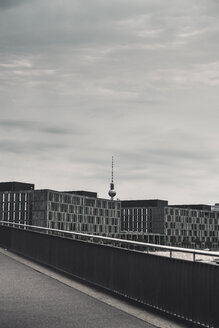 Germany, Berlin, view to television tower seen from main station - CHPF00418