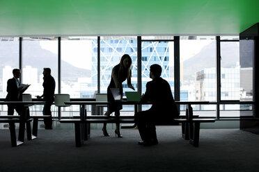 Business people working in modern office - ZEF14296