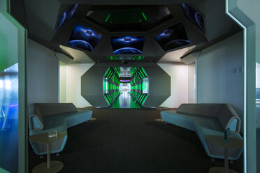 Futuristic corridor in modern office - ZEF14368