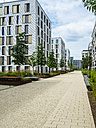 Germany, Hesse, Offenbach, modern architecture at harbor area - AMF05460