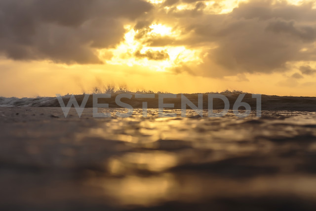 Indonesia, Bali, ocean at sunrise - KNTF00874