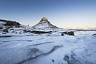 Iceland, Kirkjufell mountain at sunset - EPF00459