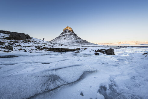 Iceland, Kirkjufell mountain at sunset - EPF00459