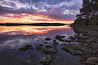 Croatia, Istria, Kamenjak Natural Park, Sunrise on the Adriatic Sea - LOMF00608