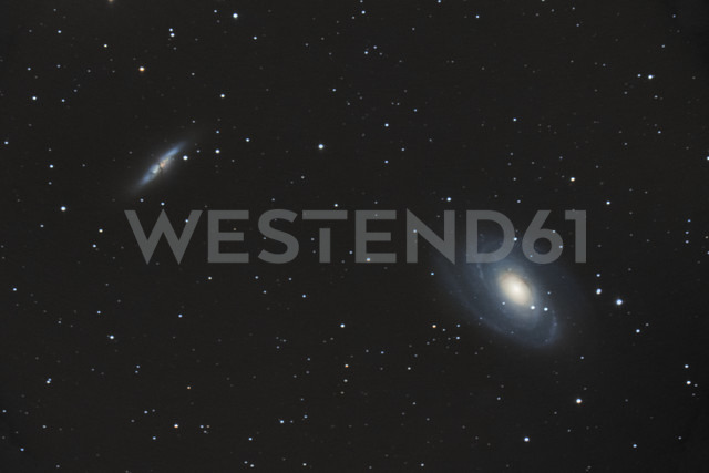 Astronomic photography of M81 and M82 galaxies - DHCF00151