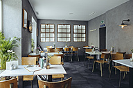 Interior view of an empty cafe - MFF03912