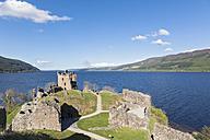 UK, Scotland, Loch Ness, Drumnadrochit, Urquhart Castle - FO09276