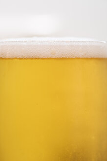 Glass of cold beer, close-up - BZF00374