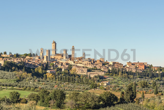 Italy, Tuscany, San Gimignano, townscape with gender towers - CSTF01343 - Carmen Steiner/Westend61