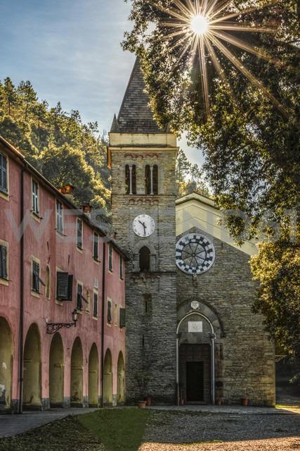 Italy, Liguria, Cinque Terre, Monterosso, Santuario Nostra Signora di Soviore - CSTF01377 - Carmen Steiner/Westend61