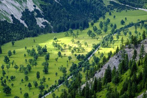 Austria, Tyrol, Karwendel, Riss Valley, Eng, Grosser Ahornboden - LBF01630