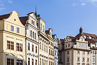 Czech Republic, Prague, row of houses at Old Town Square - WDF04092