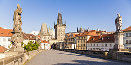 Czech Republic, Prague, Hradcany, Kleinseite Bridge Tower - WDF04116