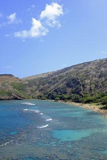 USA, Hawaii, Oahu, Hanauma Bay at Hanauma Bay State Park - HLF01018
