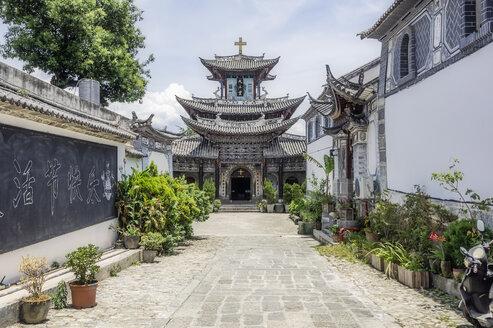 China, Yunnan, Dali, Catholic Church - THAF01993