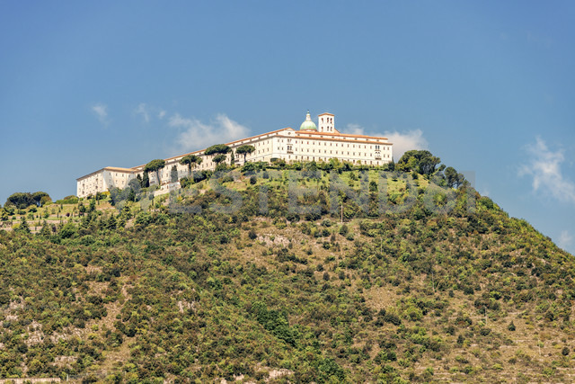 Italy, Lazio, Benedictine Abbey of Monte Cassino - CSTF01394