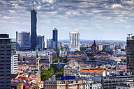 Austria, Vienna, cityscape with skyline - ABOF00256