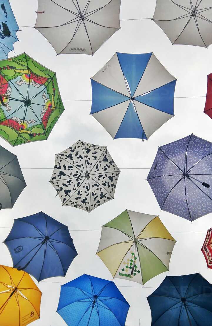 umbrellas, Zurich, Switzerland - NG00407 - Nadine Ginzel/Westend61