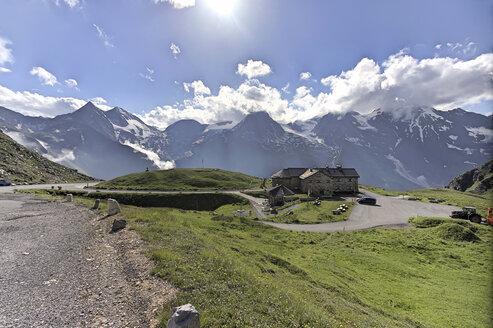 Austria, Hohe Tauern, mountain hut at  Grossglockner High Alpine Road - ZCF00555