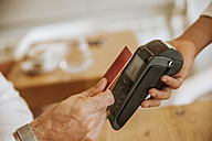 Contactless payment in cafe - ZEDF00880