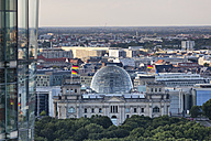 Germany, Berlin, view to Reichstag seen from above - WIF03428