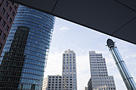 Germany, Berlin, Potsdamer Platz, Bahntower, Ritz Carlton Hotel and  Beisheim Center - WIF03430