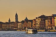 Italy, Venice, Vaporetto on the Canal Grande - MRF01721