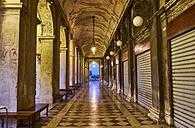 Italy, Venice, Arcade at St Mark's Square - MRF01736