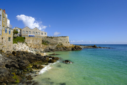 UK, England, Cornwall, St Ives, St Ives Museum and Bamaluz Beach - SIEF07546