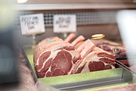 Meat on display in butchery - ZEF14640