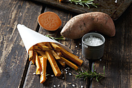 Sweet potato fries with rosmary - CSF28319