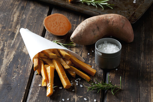 Sweet potato fries with rosmary - CSF28319