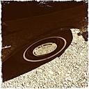 Oldtimer, vintage car, tyre - GWF05259