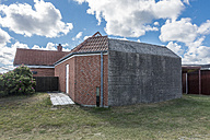Denmark, Romo, Lakolk, World War Two bunker rebuilt with residential house - HWOF00217