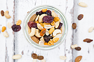 Glass of trail mix - LVF06332