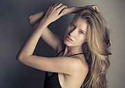 Portrait of blond young woman - PNEF00135