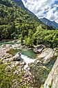 Switzerland, view of Verzasca Valley - PUF00785